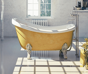 Image of a bath tub.