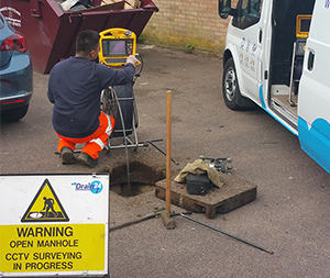 CCTV Drain Survey in Progress image